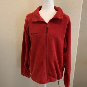 Columbia Fleece Jacket w/ Adjustable String